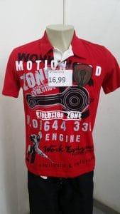 Camiseta polo masculina atacado