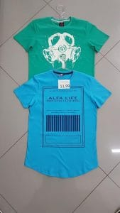 Camisetas long line atacado