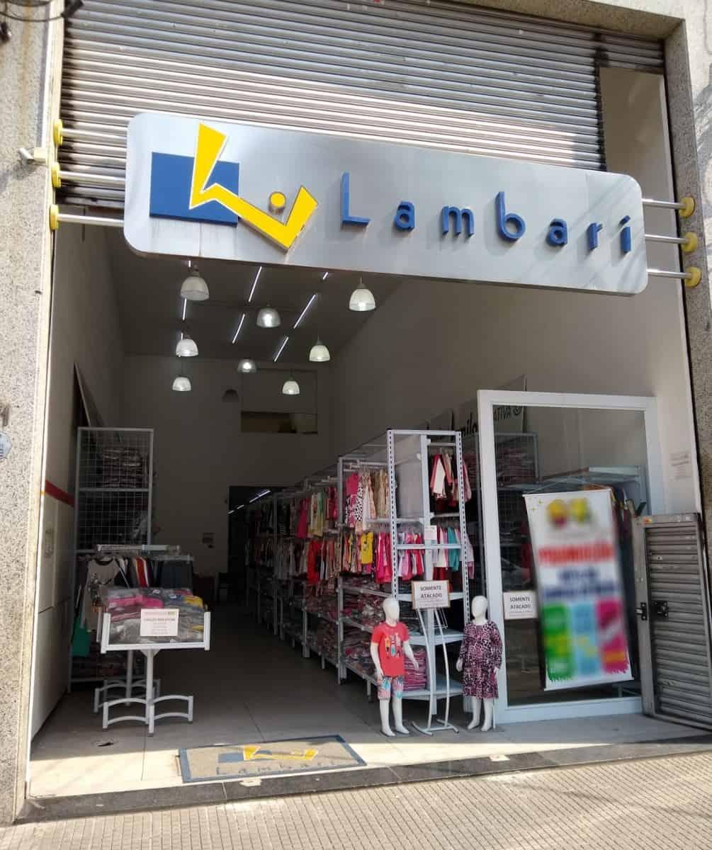 Lambari Confecções atacado de moda infantil no Brás em São Paulo