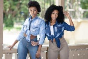 Fábrica de jeans no Brás