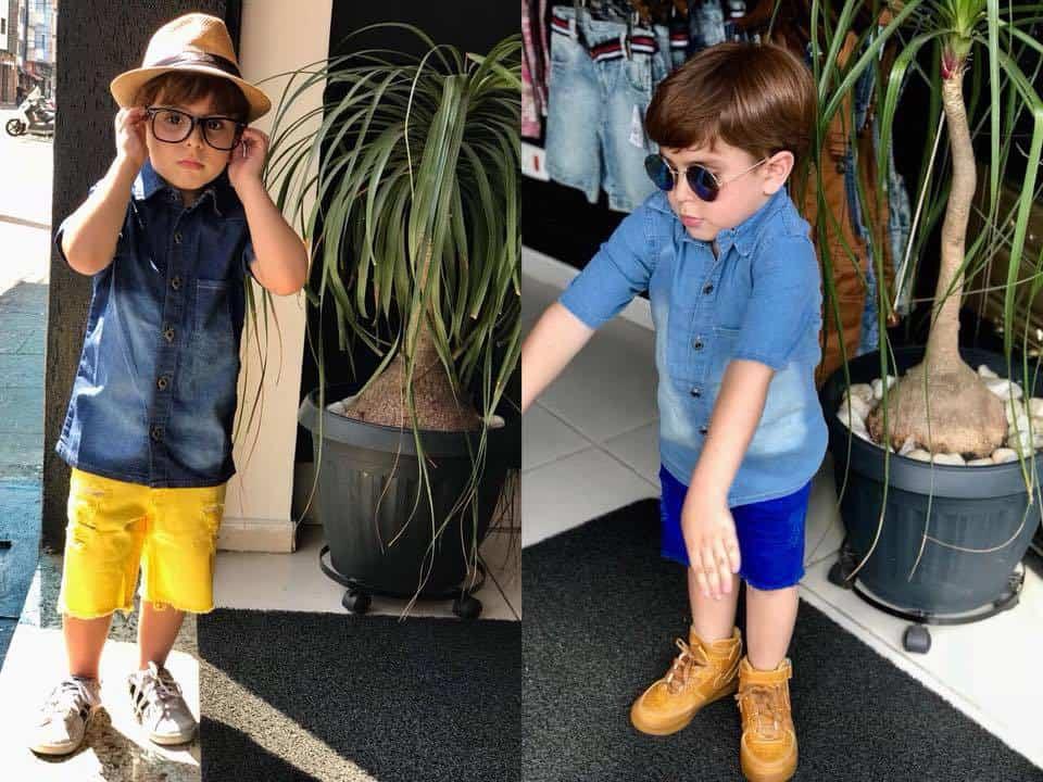 Confecção moda infantil masculina