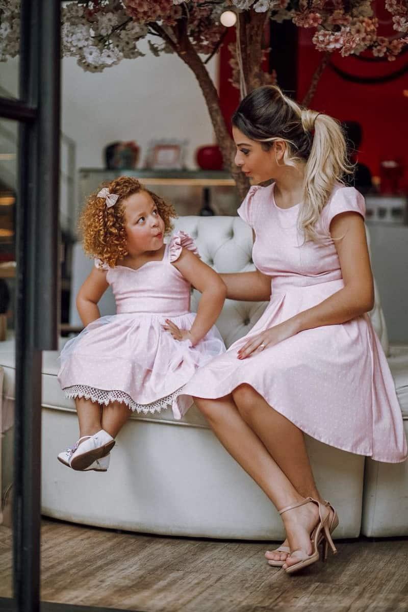 Atacado moda mãe e filha