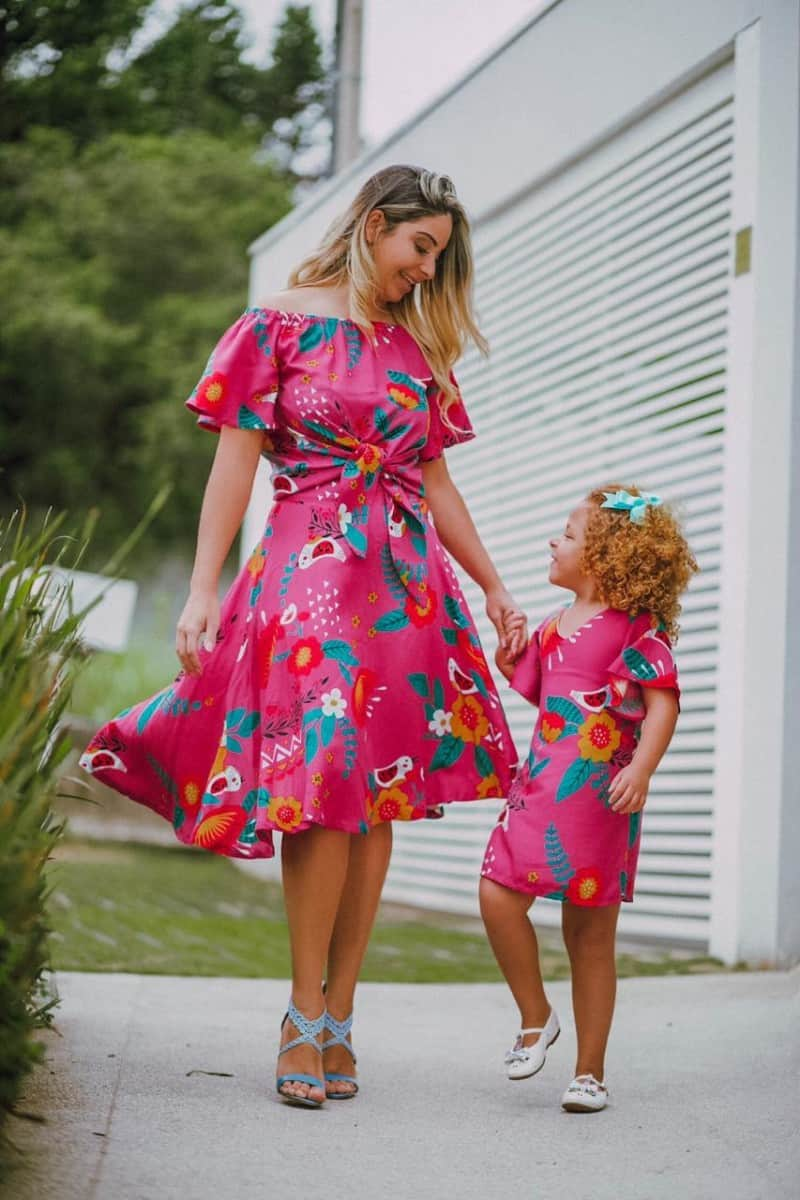 Revender moda mãe e filha