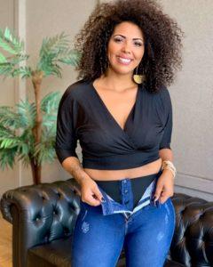 Atacado jeans plus size