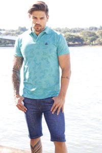 Bermuda jeans masculina no atacado em Goiânia