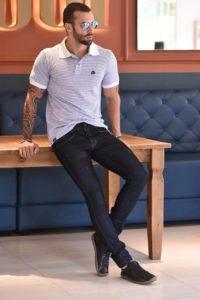 Calça jeans masculina no atacado