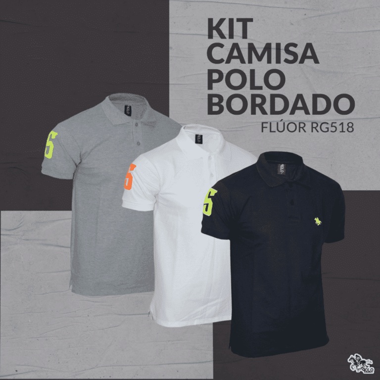 Camisetas polo no atacado