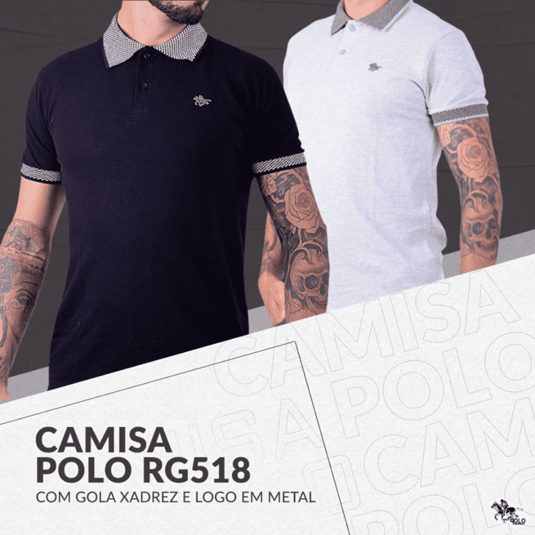 Camisetas polo slim no atacado