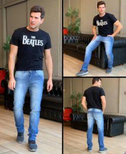 Confecção de jeans