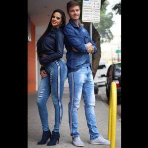 Jeans masculino e feminino no Brás