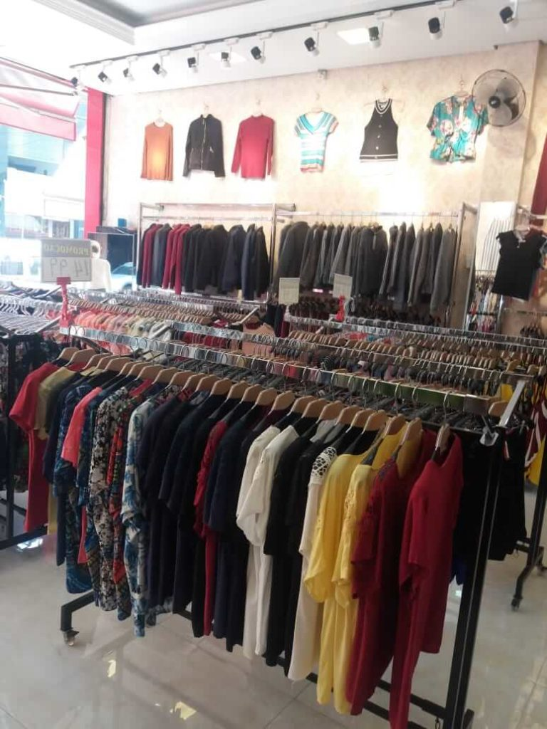 Fornecedores de roupas da China no Brasil