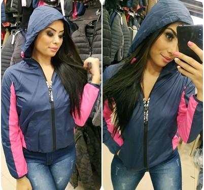 Jaqueta feminina com capuz no Brás
