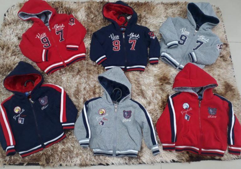 Atacado de jaquetas importadas infantis