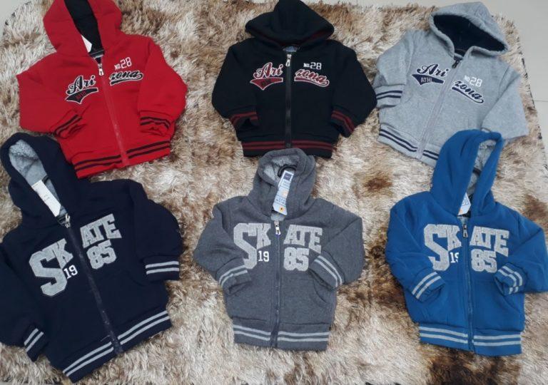 Jaquetas infantis importadas