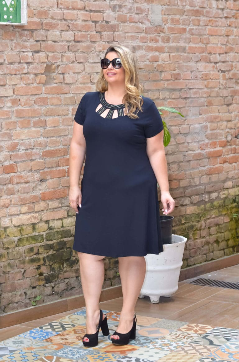 Moda plus size no Brás